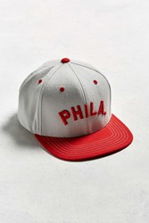 American Needle Big Show Phillies Baseball Hat Red Multi