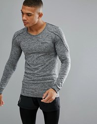 Craft Sportswear Active Comfort Running Knitted Long Sleeve Top In Grey 1903716 9999 Grey Black