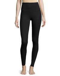 Yummie Tummie Milan Compact Cotton Leggings Black