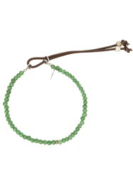 Catherine Michiels Bead Bracelet Green