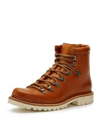 Frye Woodson Leather Hiker Boot Light Brown