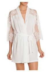 In Bloom Darlin Lace Trimmed Wrap Ivory