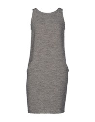Stefano Mortari Dresses Short Dresses Women Grey