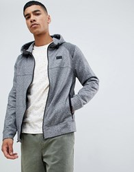 Abercrombie And Fitch Performance Sports Hoodie In Grey Marl