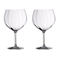 Waterford Elegance Optic Balloon Glasses Set Of 2