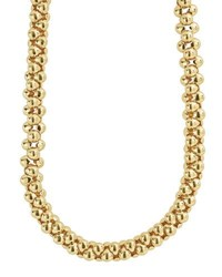 Lagos 18K Caviar Connected Link Rope Necklace