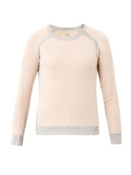 J Brand Contrast Trim Sweater