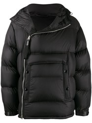 Tom Ford Asymmetric Puffer Jacket Black
