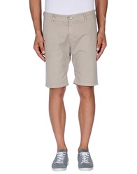 Jcolor Trousers Bermuda Shorts Men Light Grey