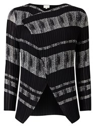 East Mayfair Pleat Cover Up Cardigan Black