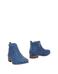 Fabi Ankle Boots Blue