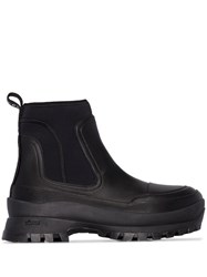 Stella Mccartney Neoprene Ankle Boots Black