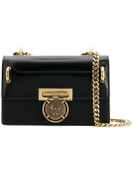 Balmain Bbox Lion Shoulder Bag Black