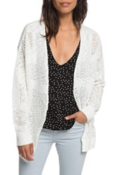Roxy Summer Bliss Cardigan Marshmallow