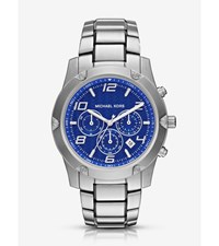 Caine Silver Tone Watch
