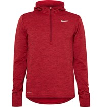 Nike Therma Sphere Eement Dri Fit Haf Zip Top Red