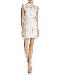 Lucy Paris Gwen Ruffled Lace Dress 100 Exclusive White