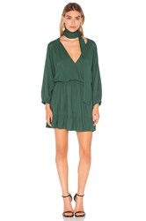 Mlm Label Niro Ruffle Dress Green