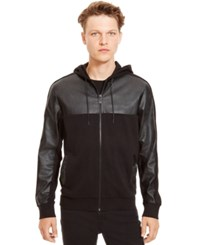 Kenneth Cole Reaction French Terry Full Zip Jacket