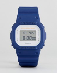 G Shock Dw 5600M 2Er Digital Silicone Watch In Blue Blue