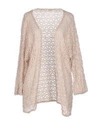 Molly Bracken Knitwear Cardigans Women Sand