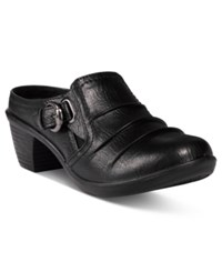 Easy Street Shoes Calm Mules Black