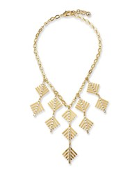 Lulu Frost Cascadia Pine Statement Necklace Gold