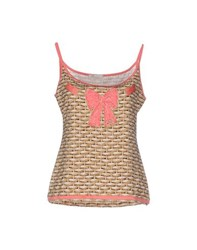 Vdp Beach Topwear Tops Women Beige
