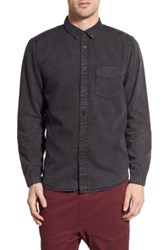 Globe Goodstock Vintage Long Sleeve Shirt Black