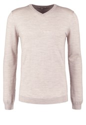Reiss Emporer Jumper Oatmeal Grey