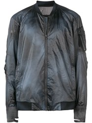 Devoa Lightweight Bomber Jacket Black