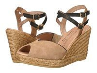 Eric Michael Gina Camel Shoes Tan