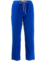 Bellerose Cropped Trousers Blue
