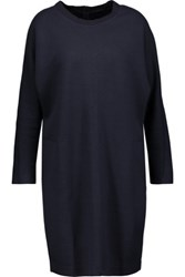 Chinti And Parker Stretch Jersey Sweater Dress Midnight Blue