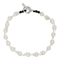 Sophie Buhai White Baroque Pearl Necklace