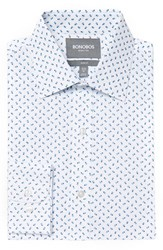 Men's Bonobos Slim Fit Wrinkle Free Flower Print Dress Shirt