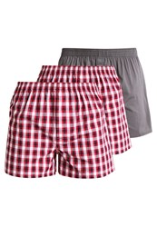 Zalando Essentials 3 Pack Boxer Shorts Red