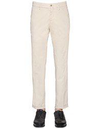 Lardini 18Cm Stretch Cotton Toile Pants