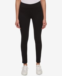 Tommy Hilfiger Pull On Skinny Pants Only At Macy's Black