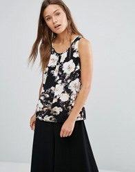 Vila Floral Vest Top Multi