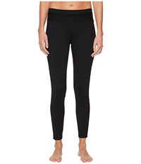 Ivanka Trump Active Pull On Color Block Pants Black Casual Pants
