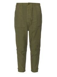 Nlst Low Rise Cotton Utility Trousers