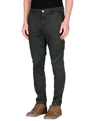 Alessandro Dell'acqua Casual Pants Dark Green