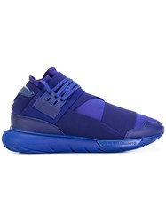 Y 3 Lace Up Trainers Pink Purple
