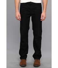 Calvin Klein Jeans Straight Denim In Worn In Black Worn In Black Men's Jeans