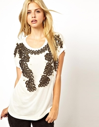 Mina Embroidered Top White