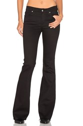 James Jeans Bella Flare Flat Black Raw