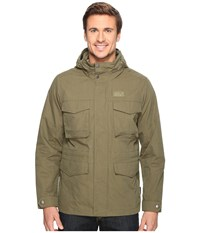 Jack Wolfskin Freemont Field Jacket Burnt Olive Men's Coat