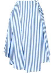08Sircus Striped Skirt Blue