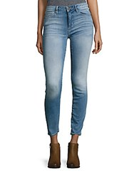 Hidden Jeans Faded Whiskered Light Wash